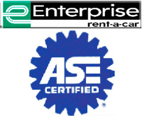 Enterprise Rent-a-Car and ASE Certified Technicians
